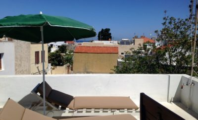 Maisonette Medieval city with roof terrace-sea view